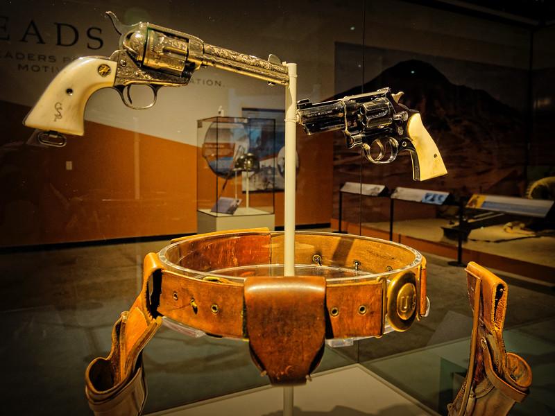 Ivory-Handled Pistols