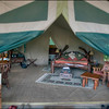 Tent at Governor's Il Moran camp, Maasai Mara, Kenya.