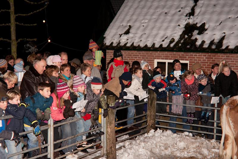 Kerstavond Regenboog 24-12-2009