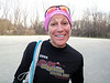 Beth, allegedly doing an easy weekend of running in-between races.  Next on the calendar is Chippewa, isn't it?