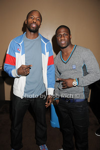 Wil Sylvince, Kevin Hart photo by Rob Rich © 2010 robwayne1@aol.com 516-676-3939