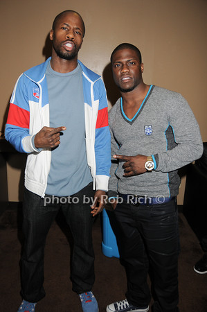 Wil Sylvince, Kevin Hart<br /> photo by Rob Rich © 2010 robwayne1@aol.com 516-676-3939