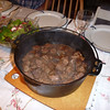Kettle cooked beef stew
