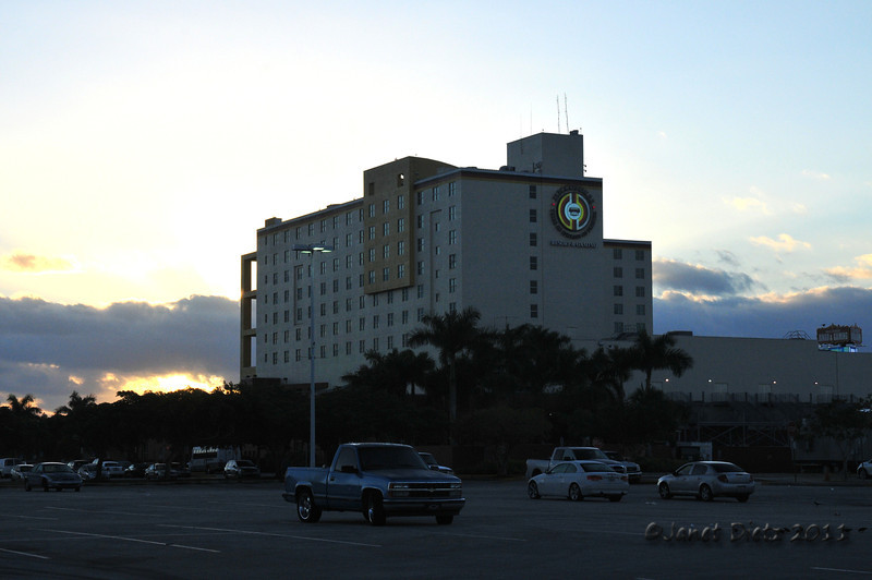 Miccosukee Casino, west of Miami.  Made a good place to stop for the night.  Shared the back lot with lots of other Casino  Campers.