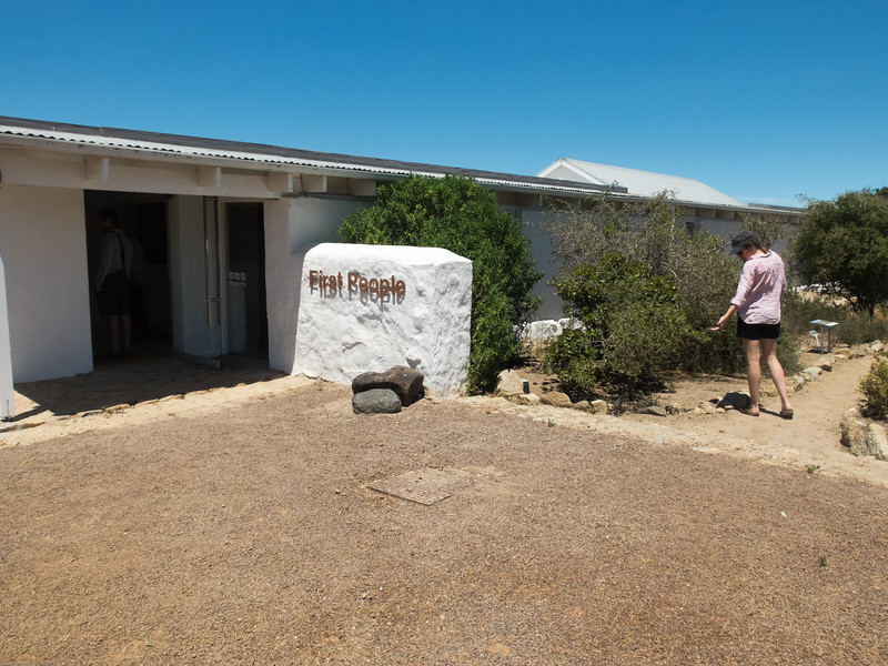At !Khwa ttu San Heritage Centre.