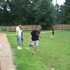 Kickball with Kingwood Park HS Students :