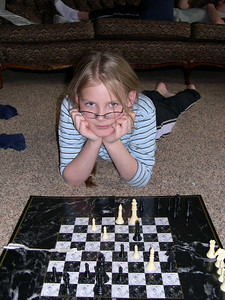 Aunika's Strategizing Pose: It didn't help ;)