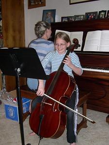 Happy Cellist