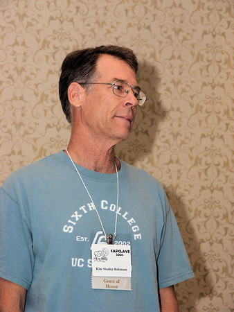 Kim Stanley Robinson at Capclave 2006