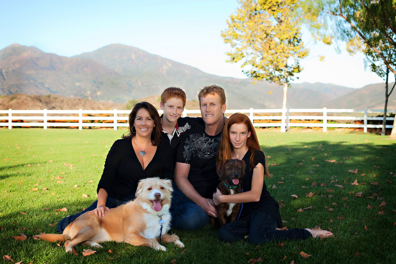 """""""Robin was the first and only photographer that made my family look cohesive. My Husband and children are fair skin and red heads, I always look so out of place with my brown hair and olive skin features. Thank you Robin for creating a family photo that I love."""" -Kristen"""