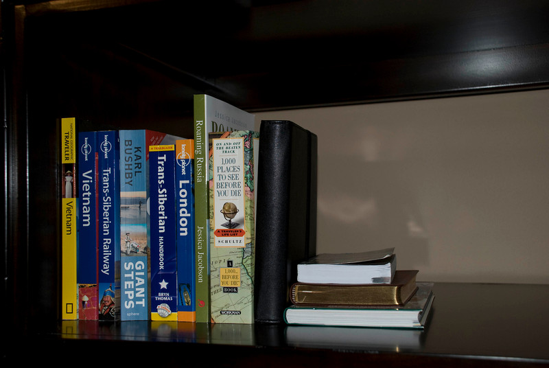 Average sized paperbacks.