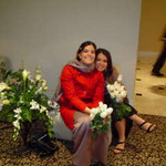 Kristy and I at Ali and Barak's Wedding