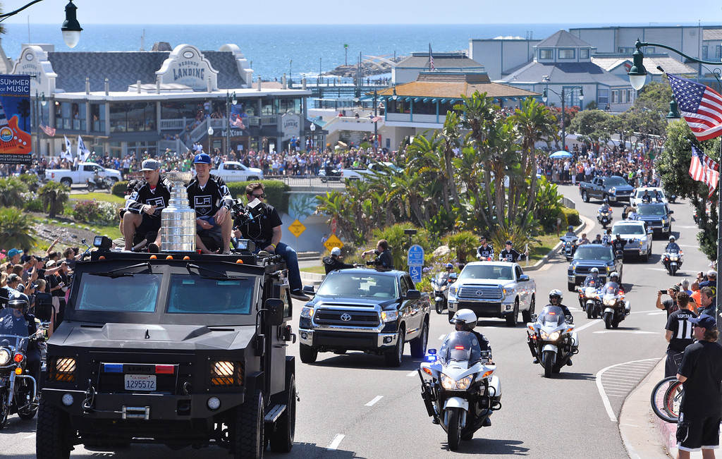 . Redondo Beach Pier area. Kings parade through the cities of Redondo Beach, Hermosa Beach, and Manhattan Beach. (June 18, 2014. Photo by Brad Graverson/The Daily Breeze)