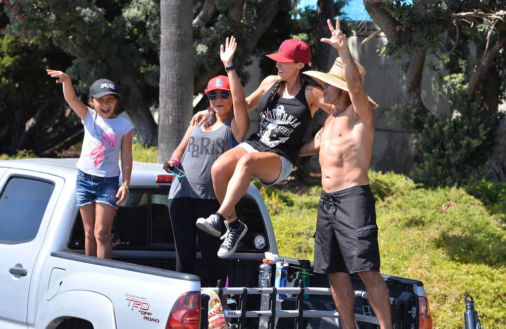 . Kings parade through the cities of Redondo Beach, Hermosa Beach, and Manhattan Beach. (June 18, 2014. Photo by Brad Graverson/The Daily Breeze)