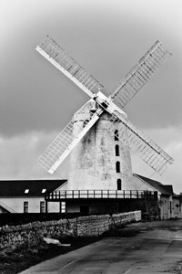 Windmill in County Kerry by Carlagraphs-