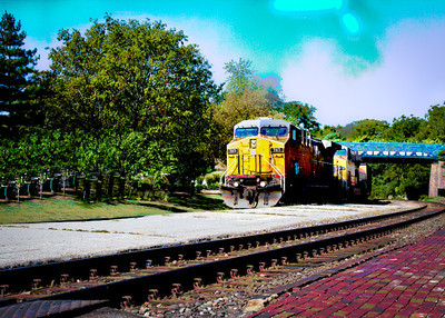 Kirkwood Train by Carlagraphs-