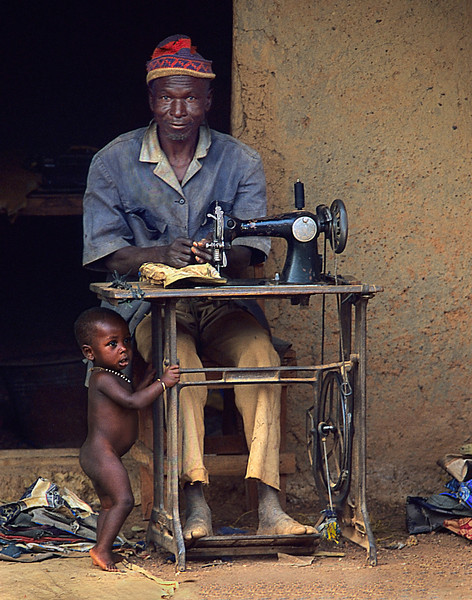 Tailor's son has no clothes  © kit smith