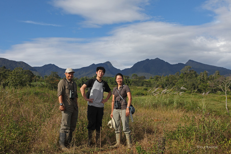 Franco has now seen the Philippine Eagle flying in the wild. As well as a bunch of other exotic Mindanao montane birds.