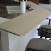 This is the mockup of the bar counter, to check for size and shape.