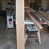 "I bought 21 board feet of cherry lumber, 3 peices 12' long by 6""-7"" wide.  These were cut into 5' lengths with 2' left over"