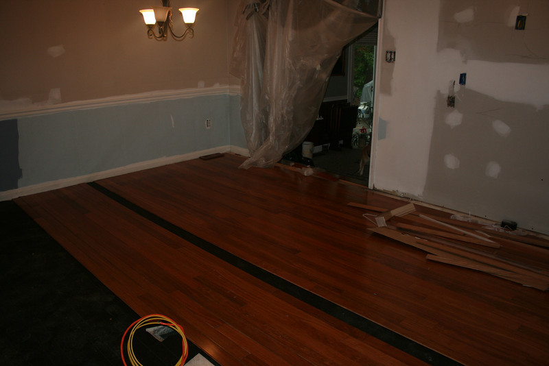 another angle from the steps looking in towards dining room  .... yea