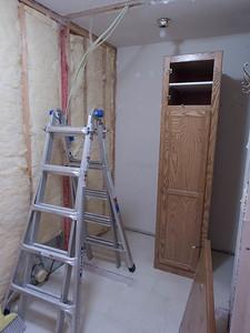 week 1: wall to storage pantry removed