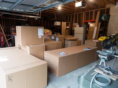 week 4: kitchen cabinets have arrived