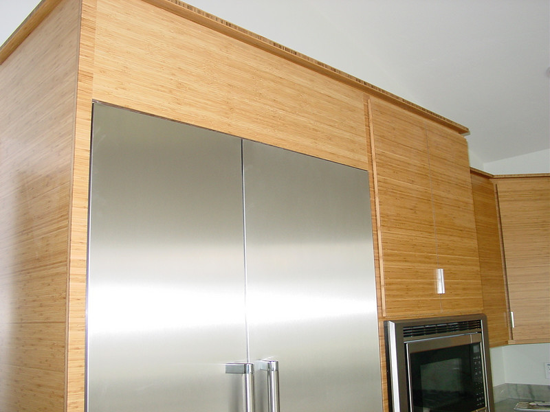 built in Refer and oven cabinet