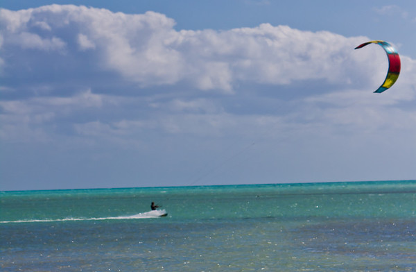Kiteboarding in Keys