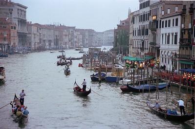 Venezia Grand Canal, Dusk