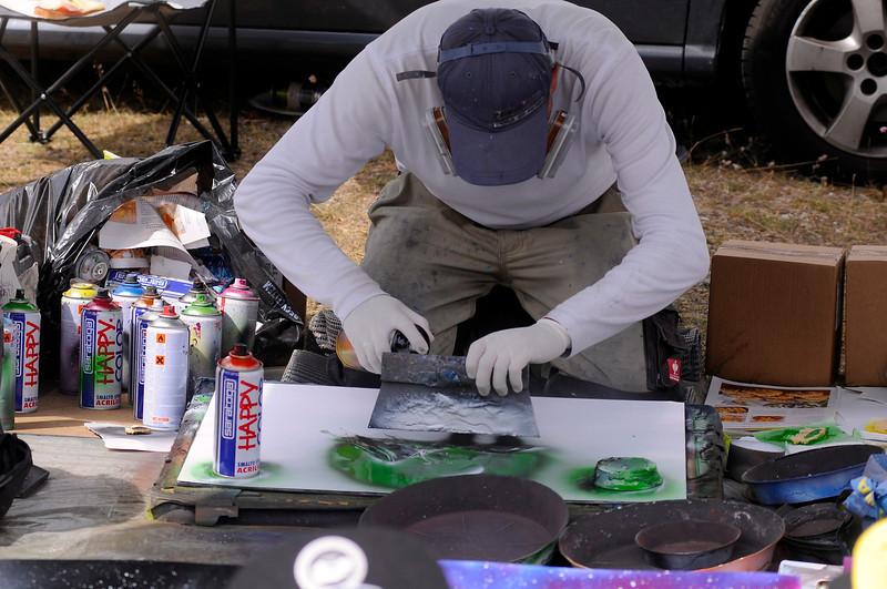 Graffitimålare (Konstnär på burk)