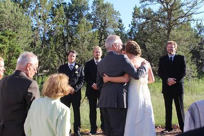 Last hug from Dad.