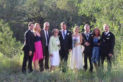 Langsjoen family: Kent, Lauren, Oldrich & Margit Machacek, Jens, Kjirsten, Peter, Alena, Luke
