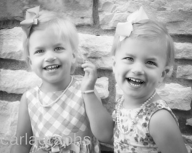The Girls Stone Wall BW-