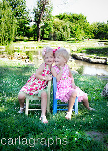 Girls on Chairs Color-