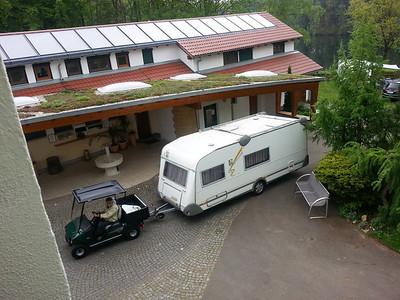 Wohnwagen ziehen problemlos, was die Kraft anbelangt.