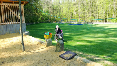 Rollstuhlgerechter Spielplatz