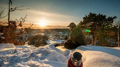 Vinter i Vennesla