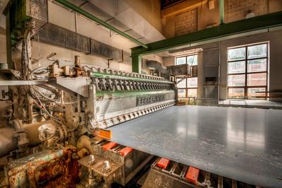 Hunsfos Fabrikker gang, 60x120