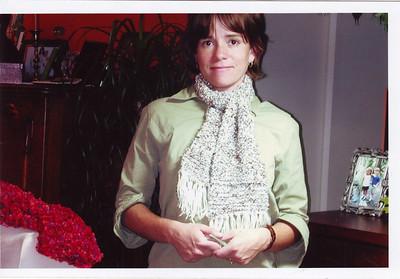 Scarf I made, love scarves.