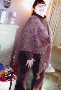 Nice shawl Phyllis!
