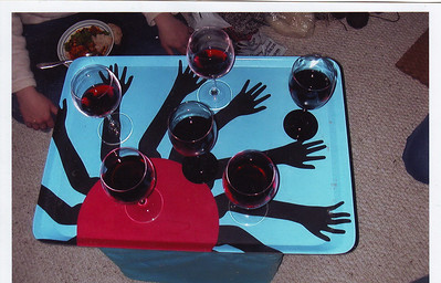 Truth be told, we were really a wine drinking group.