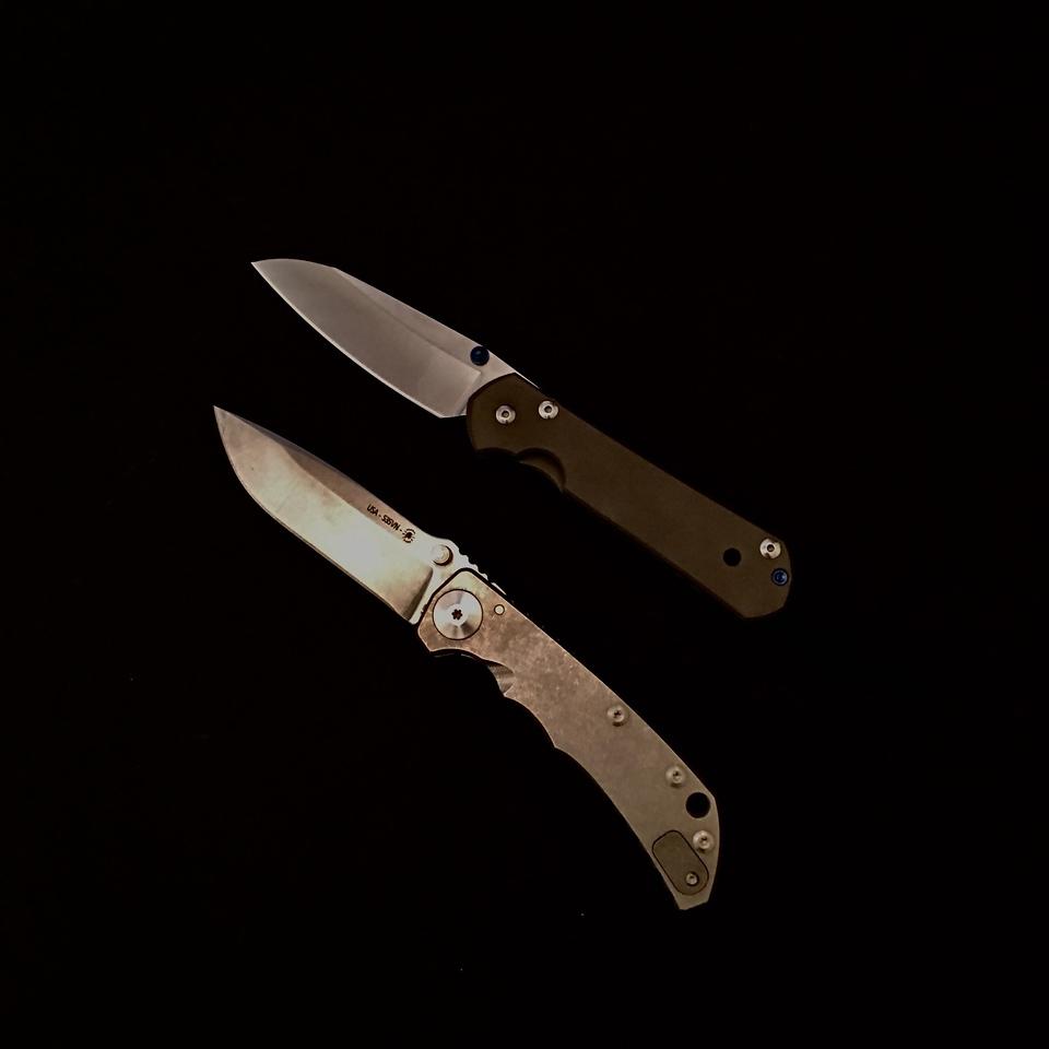 Spartan Harsey Folder Chris Reeve Knife ZT