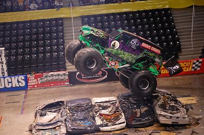 Knoxville, TN Monster Jam 2008