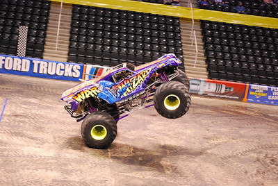 Knoxville, TN Monster Jam 2009