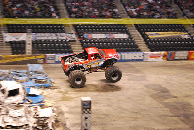 Knoxville, TN Monster Jam--2010