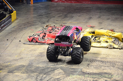 Knoxville, TN Monster Jam 2012