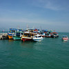 Ferry boats at Na Dan pier, Ko Samet