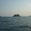 Gulf of Thailand, islands seen from the ferry.  None of them look to be inhabited, maybe we should stake our claim to one!