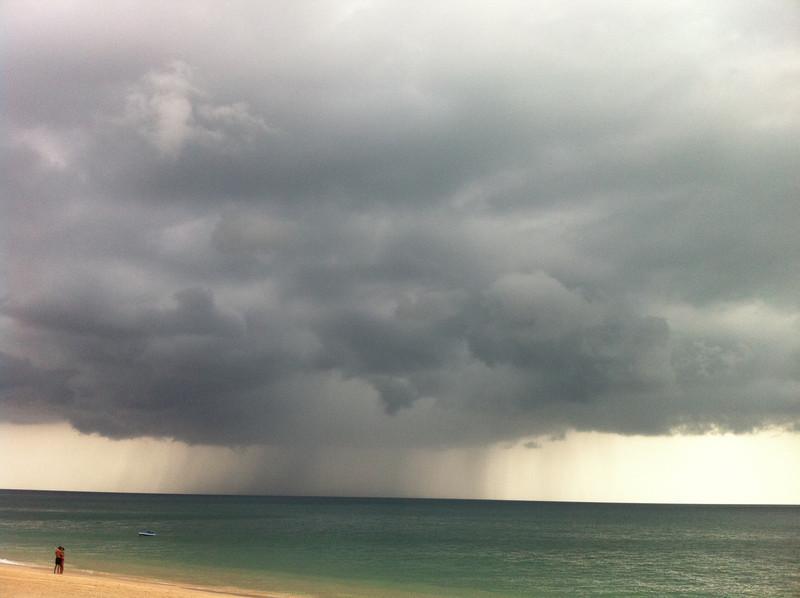Stormy Koh Lanta Clouds, Long Beach